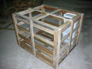 Fabrication de caisse pour expédition de vos produits