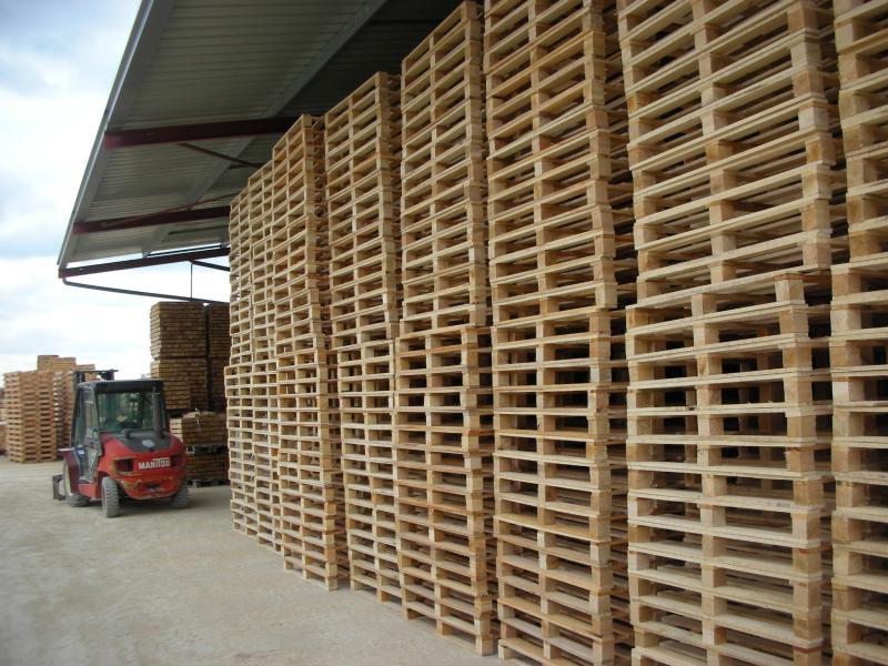 Fabrication de palettes bois toutes dimensions